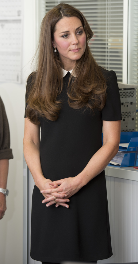 Kate Middleton's black Topshop dress