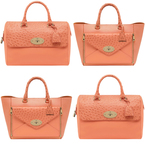 COLOUR TREND: MULBERRY'S APRICOT HANDBAGS