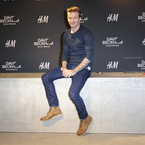 David Beckham hits Berlin for H&M bodywear launch
