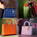 MARION COTILLARD FOR LADY DIOR SS13 HANDBAGS
