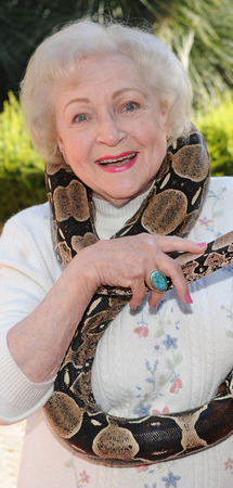 Betty White at the 40th Annual 'Beastly Ball' at Los Angeles Zoo in 2010