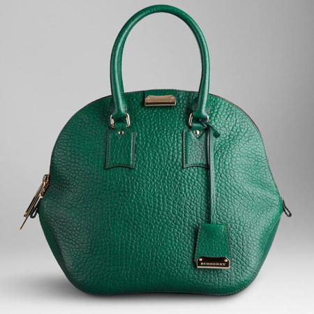 Burberry Orchard Handbag does jewel tones