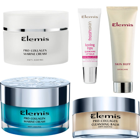 DIY facial with Elemis products