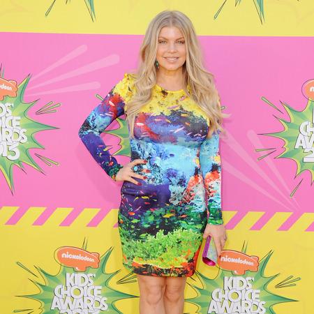 Fergie at Nickelodeon Kid's Choice Awards 2013