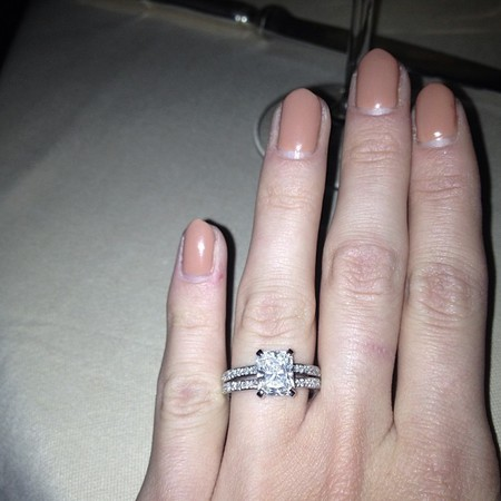 SHOP! Millie Mackintosh style diamond engagement rings