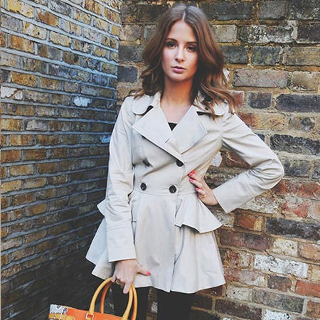Millie Mackintosh wears Miss Selfridge coat