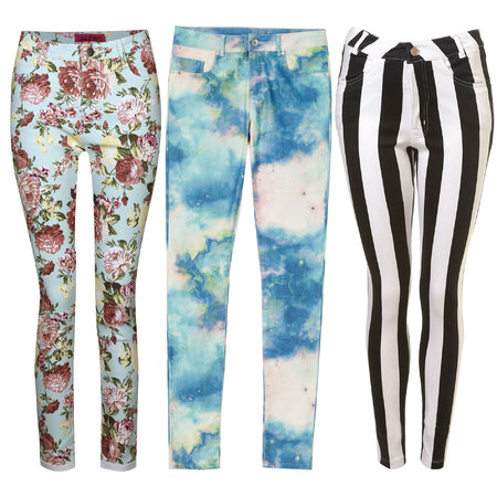printed jeans spring/summer trend