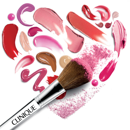 Clinique Valentines makeup image