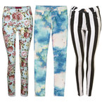 SHOP! Printed jeans trend for spring/summer 2013
