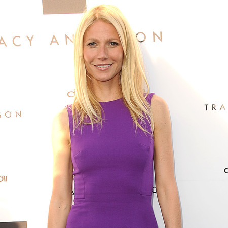 Gwyneth Paltrow wears Victoria Beckham dress at Tracey Anderson launch