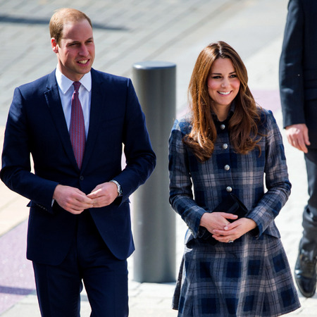 Kate Middleton and Prince William in Scotland