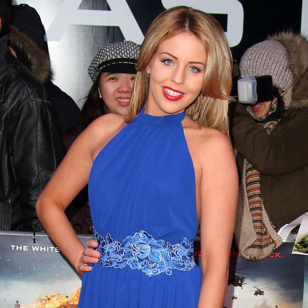 Lydia Bright at Olympus Has Fallen UK premiere