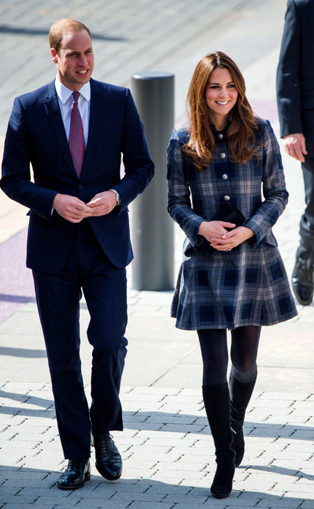 Kate and William in Scotland