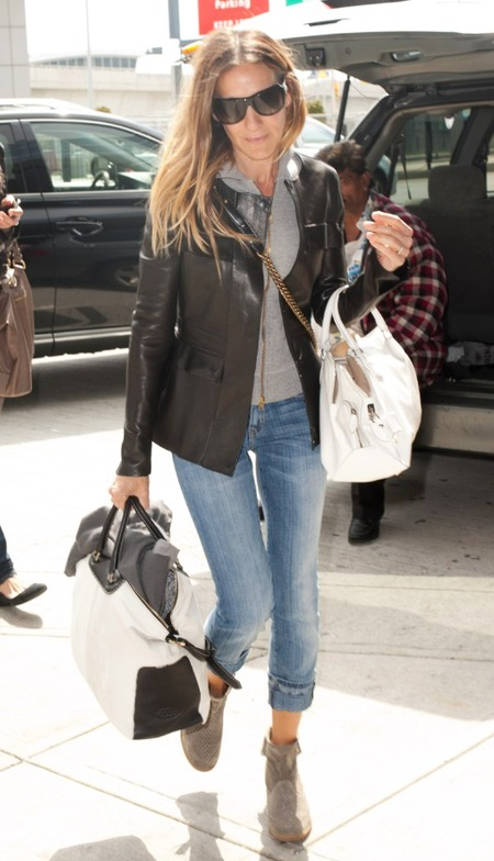 Sarah Jessica Parker at New York's JFK airport
