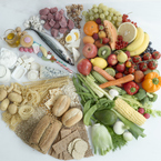 Essential food groups for a healthy diet during pregnancy