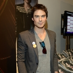 Ian Somerhalder teases fan over Fifty Shades of Grey