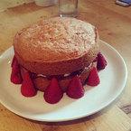 Millie Mackintosh bakes a victoria sponge