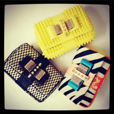 Christian Louboutin Sweety Charity clutch bags