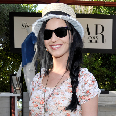 Katy Perry's festival plait