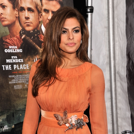 Eva Mendes at The Place Beyond The Pines Premiere