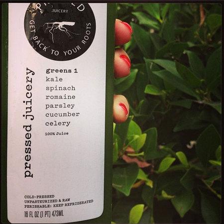 Miranda Kerr Twitter green juice