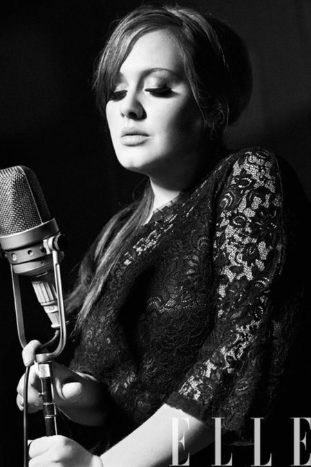 Adele covers Elle US Women in music