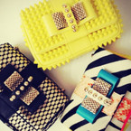 THE LATEST: Christian Louboutin clutch bags