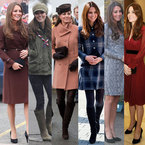 Kate Middleton's best maternity style moments