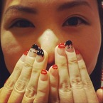 NAIL ART: Lulu Guinness lips and doll face tips