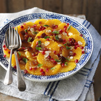 Mark Sargeant's orange & pomegranate salad