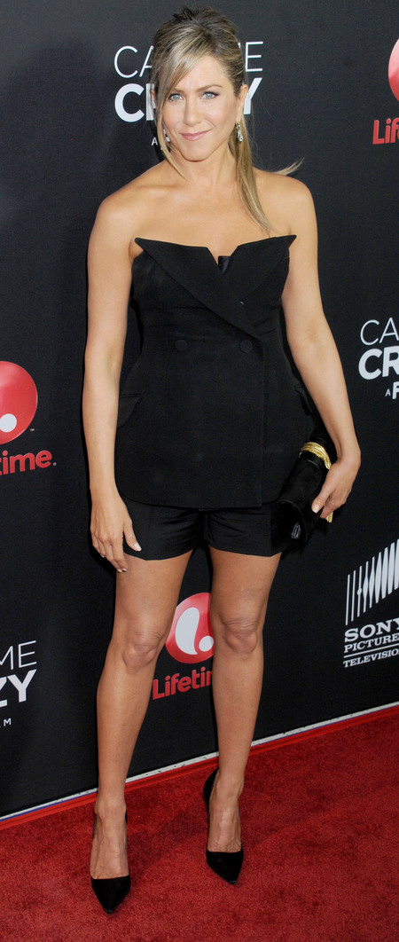 Masculine Fashion Trend Jennifer Aniston