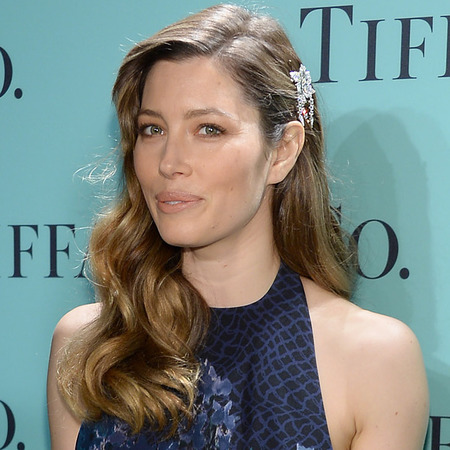 Jessica Biel at Tiffany Blue Book Ball