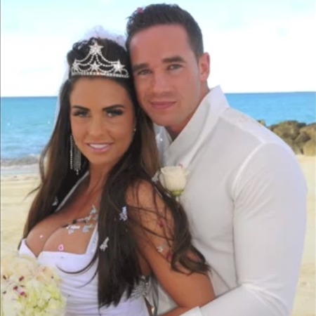 Katie Price wedding photo