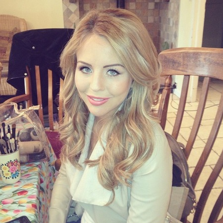 Lydia Bright for Guide Dogs shoot