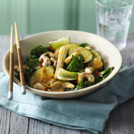 Mark Sargeant vegetarian stir-fry recipe