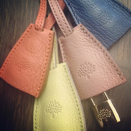Mulberry Spring/Summer 2013 handbag shades