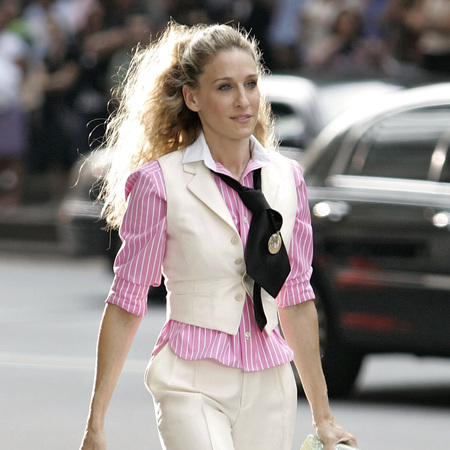 Sarah Jessica Parker plays Carrie Bradshaw in Sex and the City