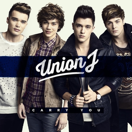 Union j debut Carry You artwork