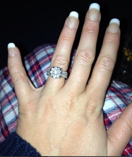Kerry Katona's engagement ring