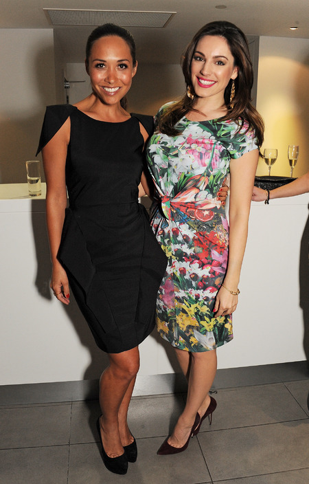 Myleene Klass and Kelly Brook at An Evening With Chickenshed