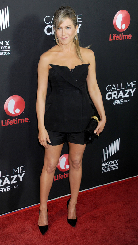 Jennfier Aniston at Call Me Crazy: A Five Film premiere