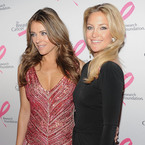 Kate Hudson and Elizabeth Hurley party in pink