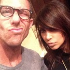 CELEB HAIR: Kim Kardashian's side fringe style