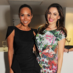 Myleene Klass shows off super summer tan