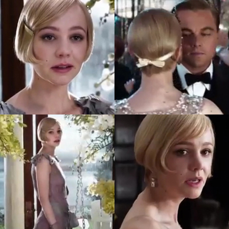 Carey Mulligan The Great Gatsby hair