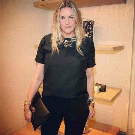 Emma Hill with Mulberry Willow clutch