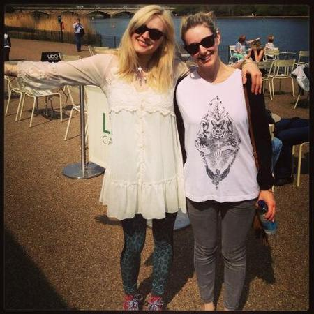 Fearne Cotton shows off spring style