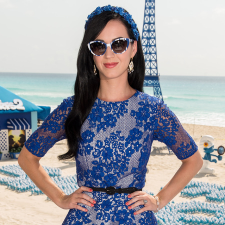 Katy Perry Smurfs 2 promo tour