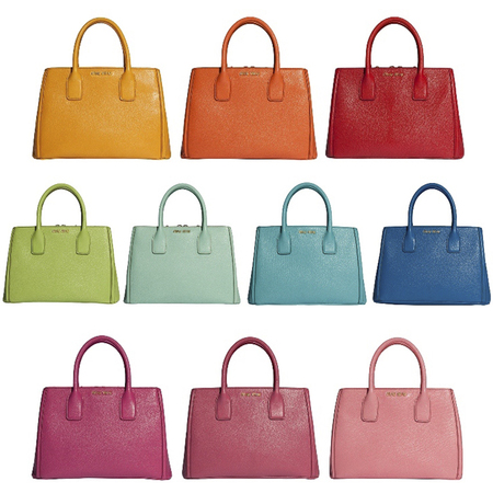 BAG LOVE: Miu Miu's new kaleidoscopic colour shopping bag collection