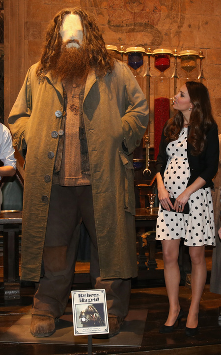 Kate Middleton Harry Potter studio tour